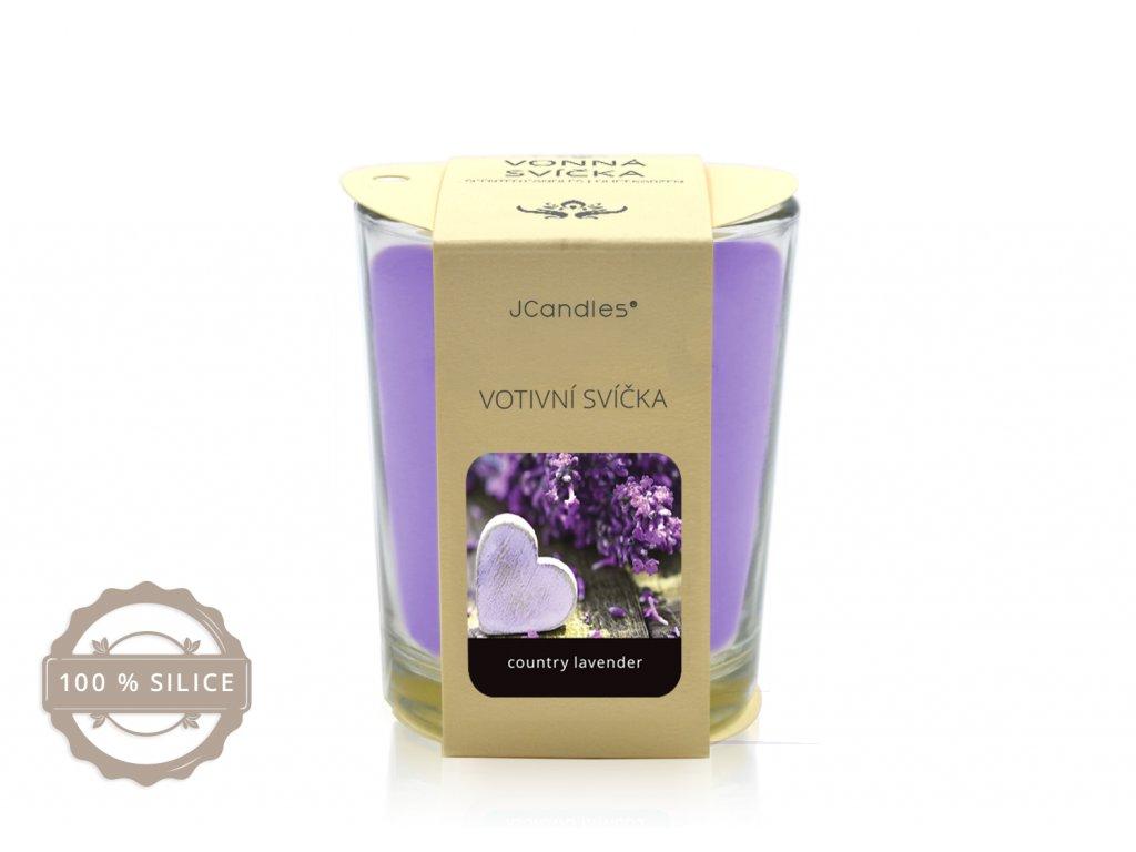 jcandles votive color v krabicce country lavender1