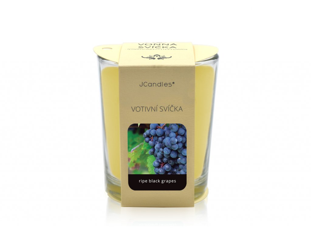 jcandles votive color v krabicce ripe black grapes1
