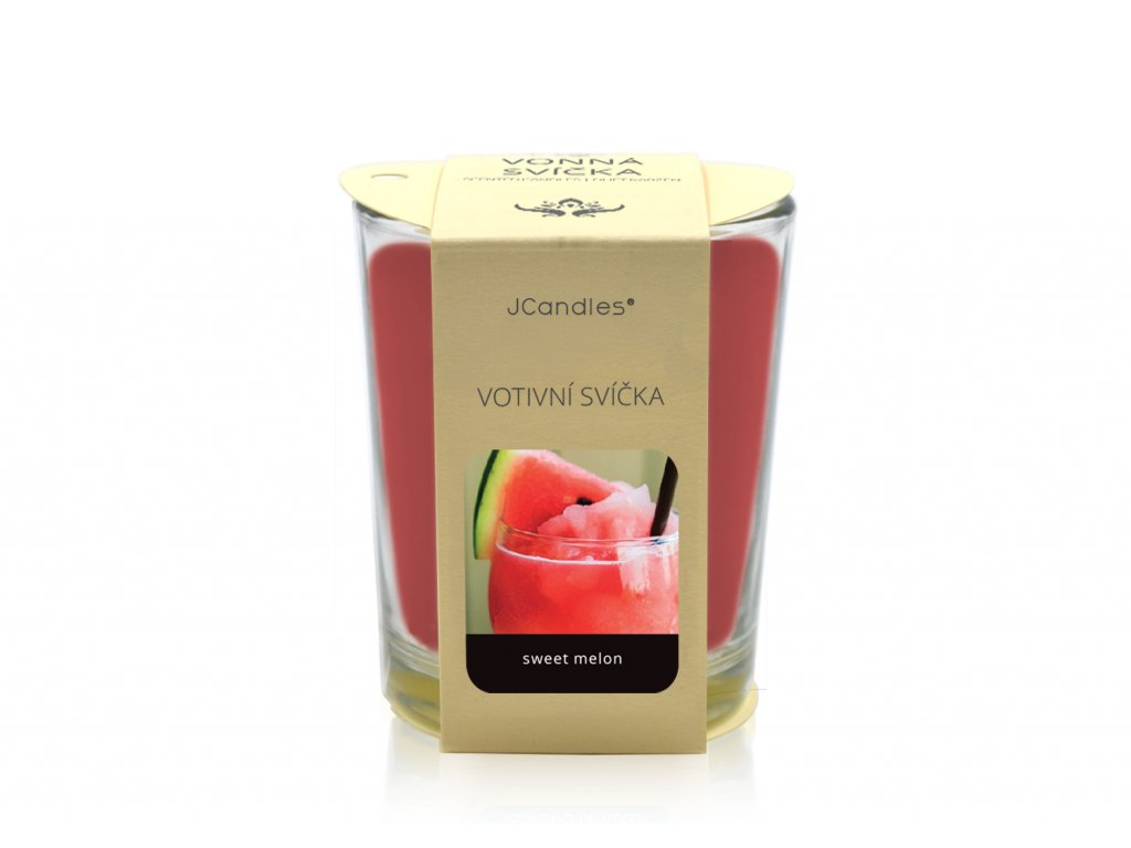 jcandles votive color v krabicce sweet melon4