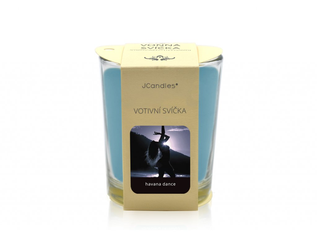 jcandles votive color v krabicce havana dance