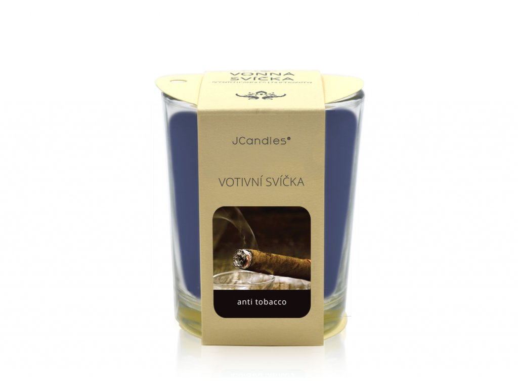 jcandles votive color v krabicce anti tobacco