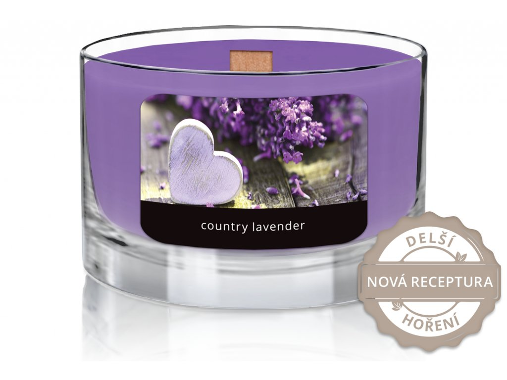 JCandles color intensive wood wick 0010 COUNTRY LAVENDER1
