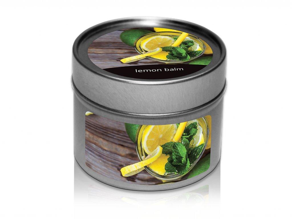 jcandles plechovka lemon balm