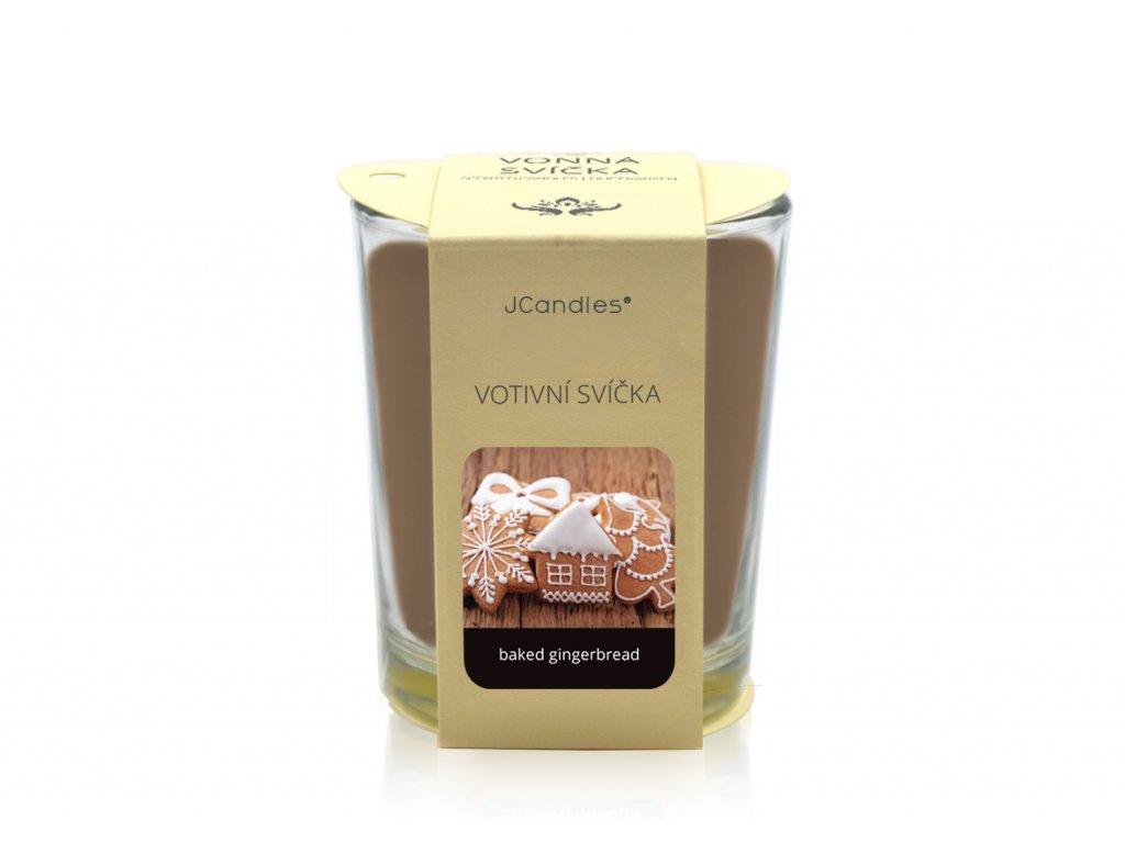 jcandles votive color v krabicce baked gingerbread