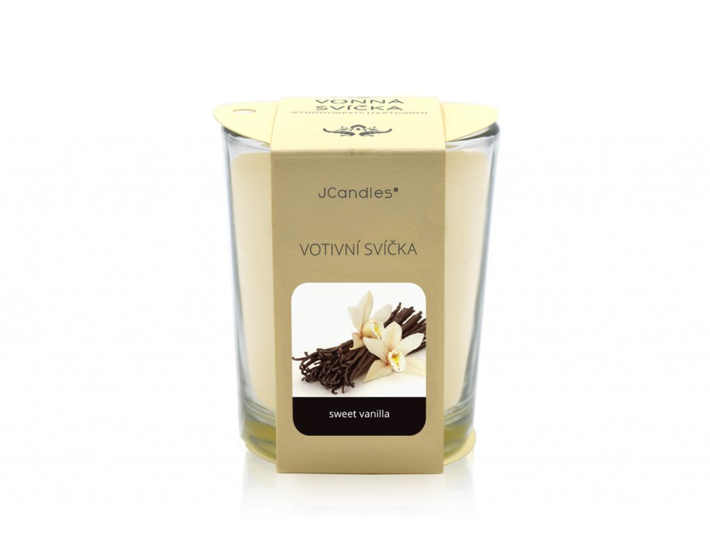 jcandles votive color v krabicce sweet vanilla
