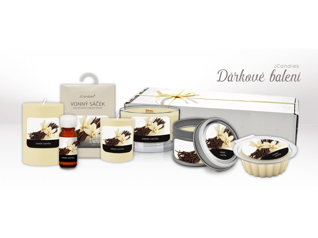 darkové krabicky sweet vanilla