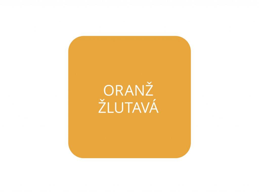 jcandles barva tekuta oranz zlutava