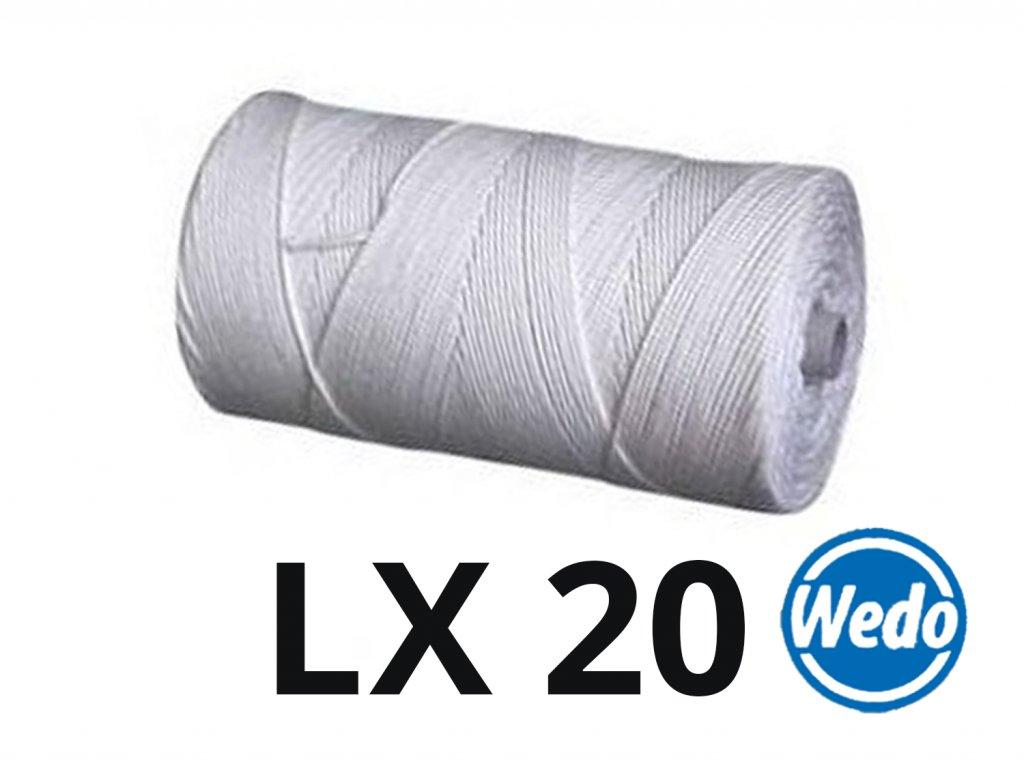 jcandles knoty na spulce wedo LX20
