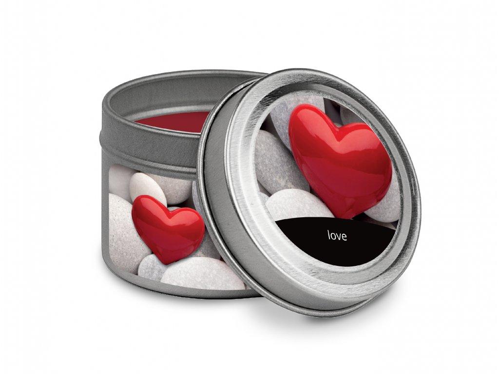PLECHOVKA SVICKA VALENTINE LOVE