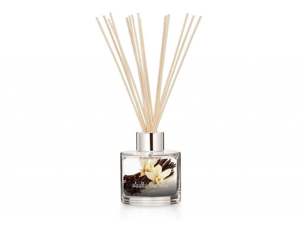 Difuzer svetle tyčinky pure sweet vanilla
