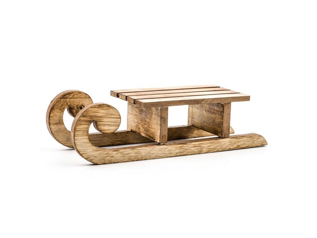 sanky drevo 34x12 5x10cm natural 129,