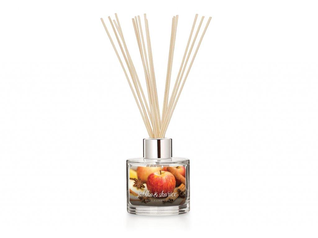 Difuzer svetle tyčinky pure apple cinnamon