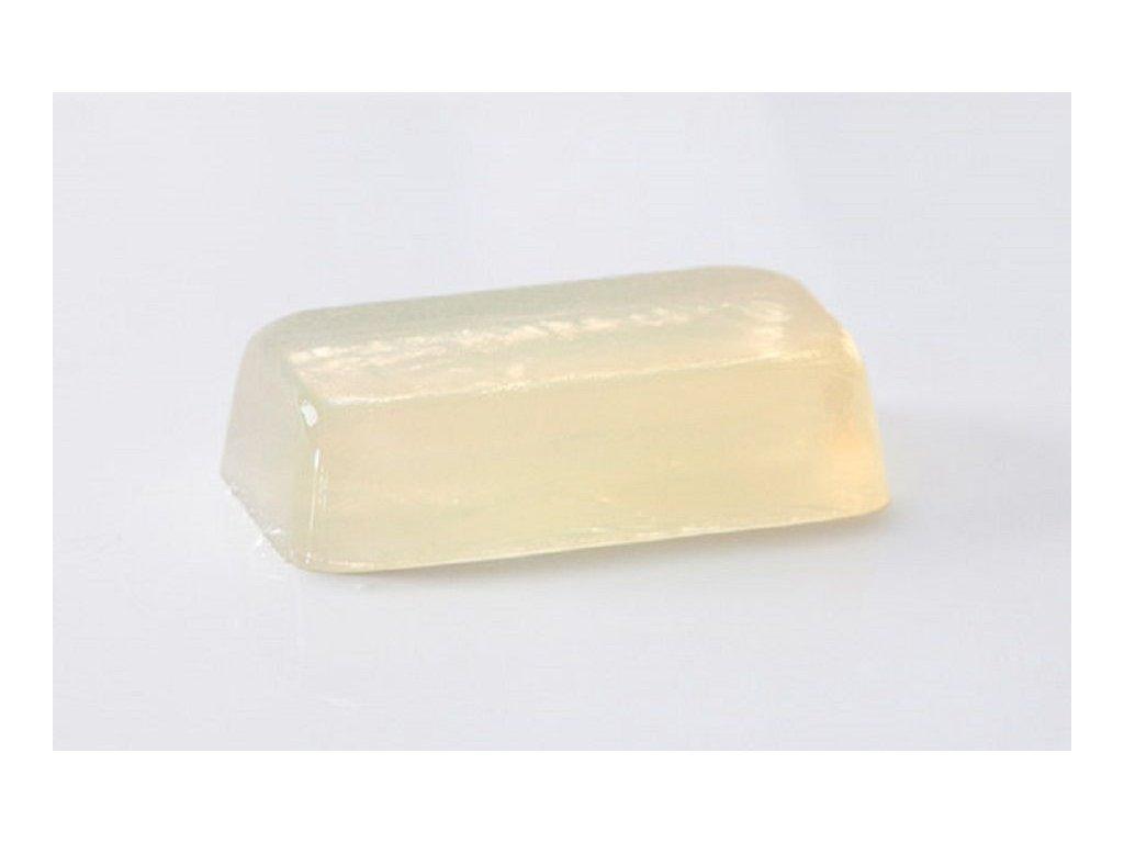 Glycerinové mýdlo Crystal HEMP transparent s konopným o...