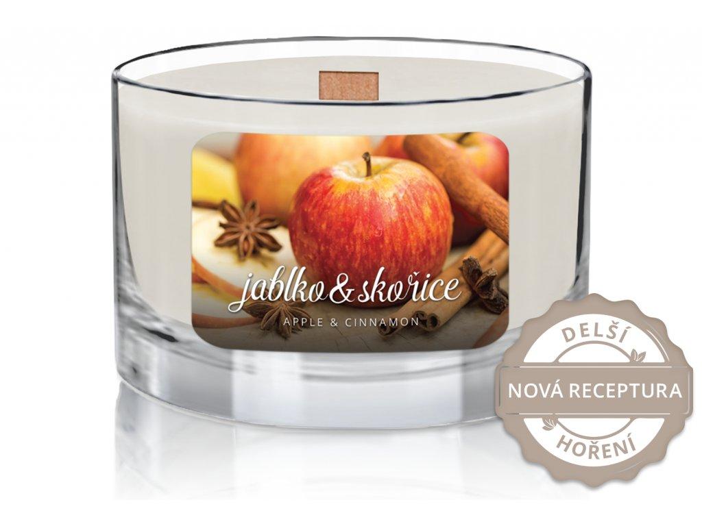 WOODWICK apple cinnamon nr