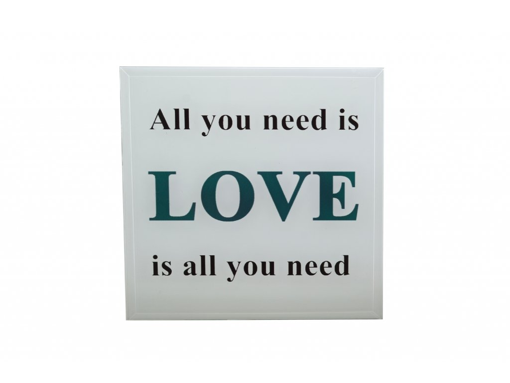 tabulka all you need is love