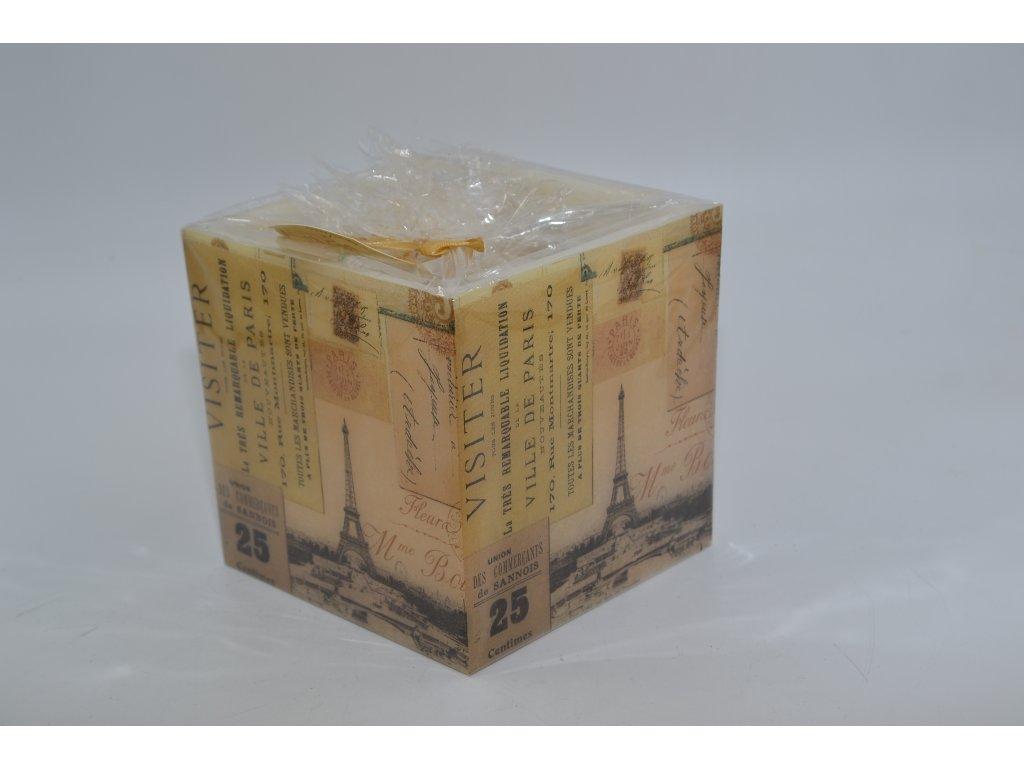 voskový svícen | Paříž č.25