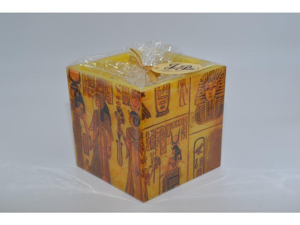 voskový svícen   faraoni