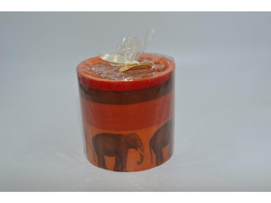 voskový svícen | slon