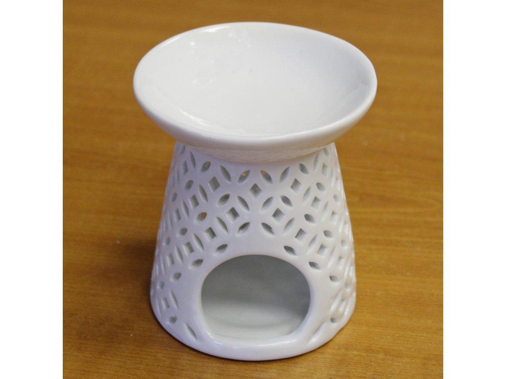 hy051 aromalampa keramika bila A10000010741