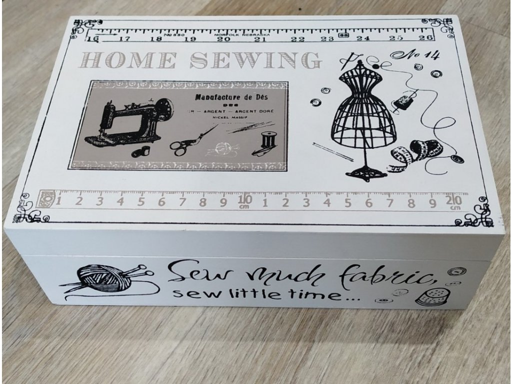 Krabička na šití