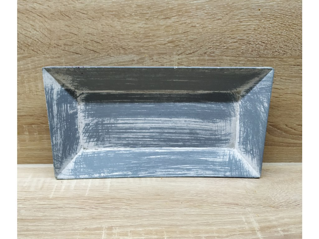 Tác šedý   15,5 x 29,5 cm