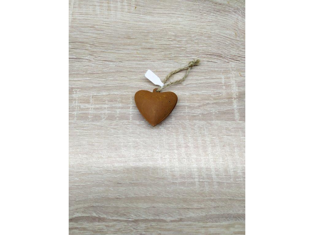 Kovové srdíčko | 4 cm