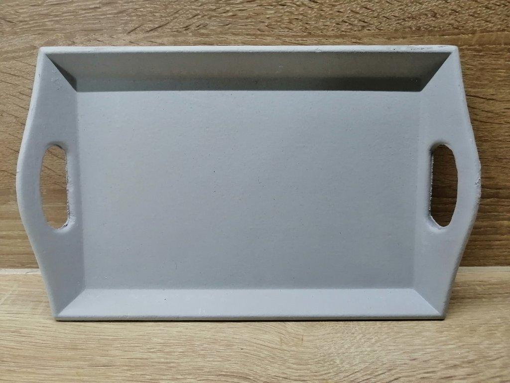 Šedý tác | 26 cm