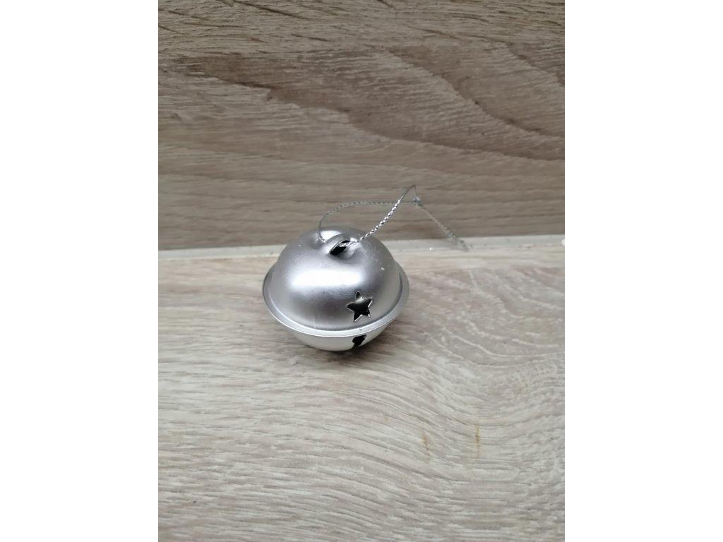 Rolnička kovová | stříbný lesk 3 cm