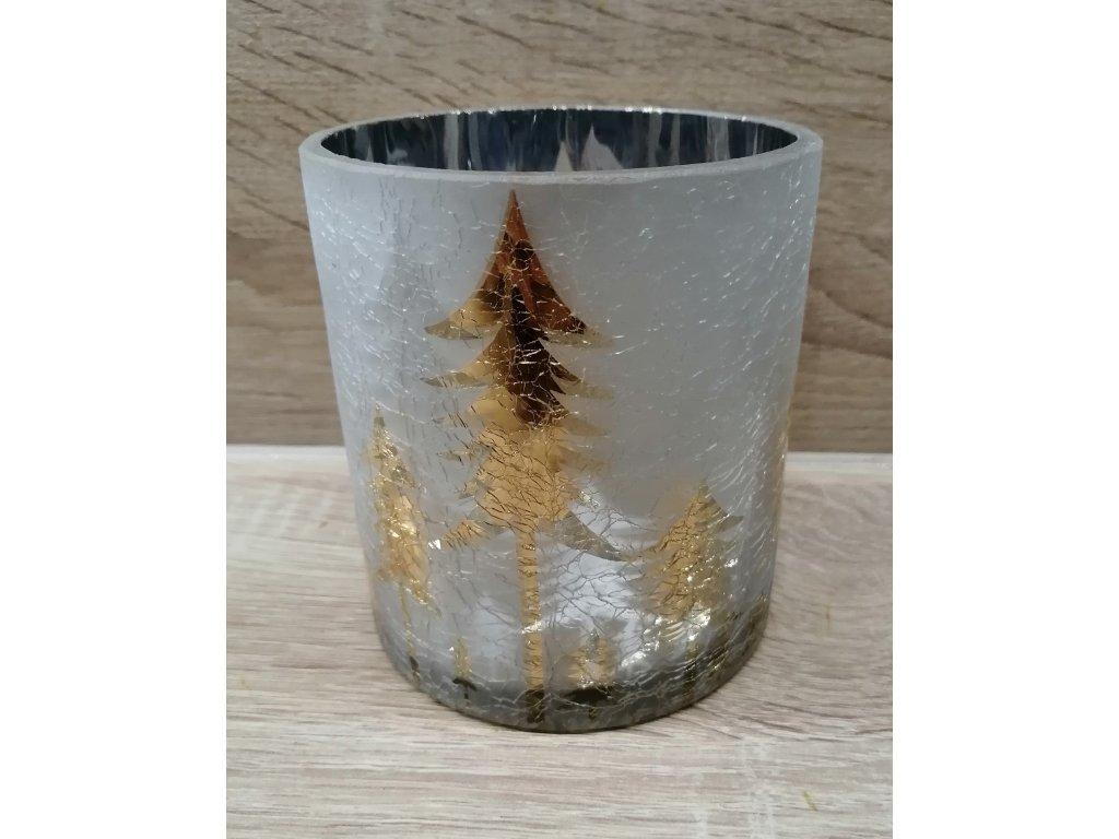 Svícen se stromy | 12,5 cm
