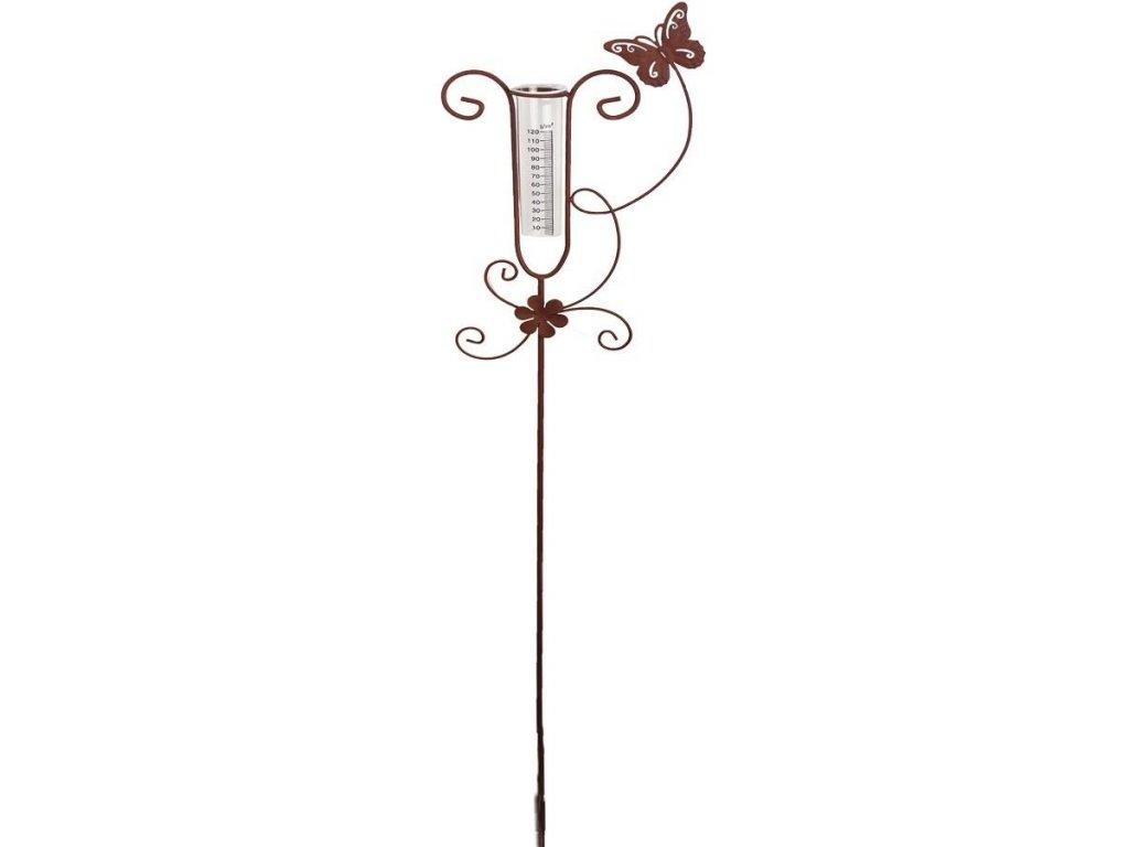 srážkoměr motýlek | zápich  113 cm