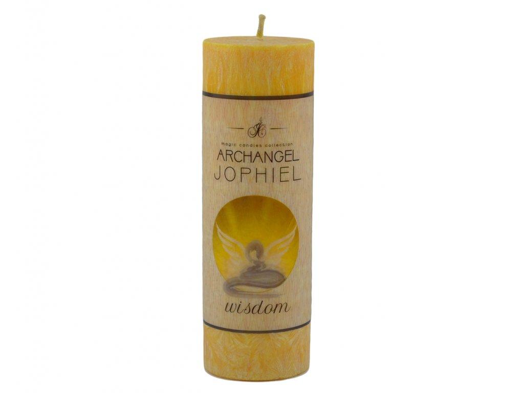 andělská svíčka dobra a naděje | Jophiel - moudrost