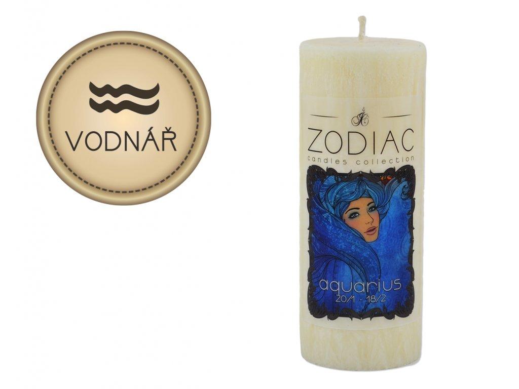 svíčka ve znamení zvěrokruhu | Vodnář
