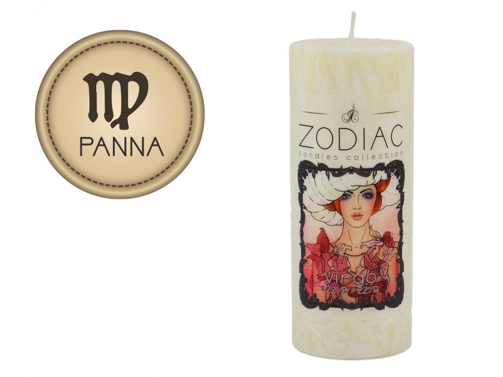 svíčka ve znamení zvěrokruhu | Panna