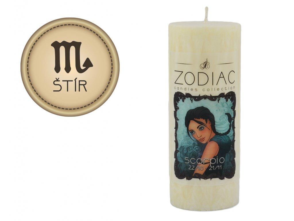 svíčka ve znamení zvěrokruhu | Štír