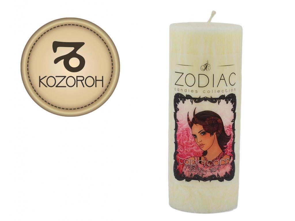 svíčka ve znamení zvěrokruhu | Kozoroh