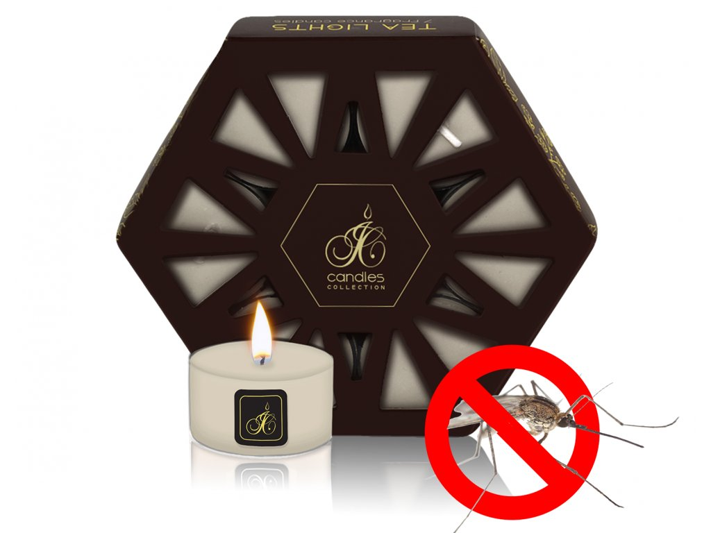 TEA LIGHT REPELLENT CITRONELLA OPUIM