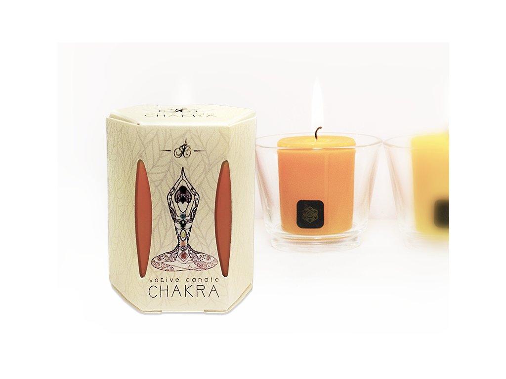 CHAKRA VOTIVE 2