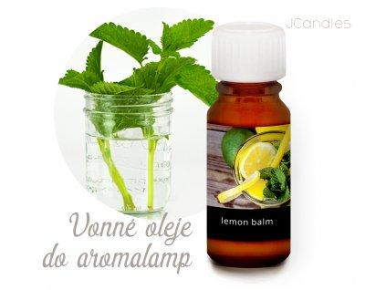 banner COLOR INTENSIVE aroma oleje lemon balm