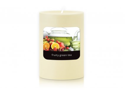 JCandles STOLNI SVICKA 0024 FRUITY GREEN TEA
