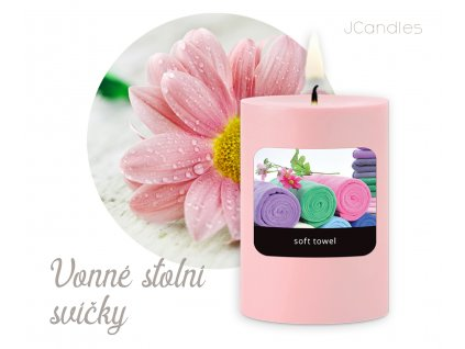 JCandles COLOR INTENSIVE STOLNI SVICKA 0019 SOFT TOWEL