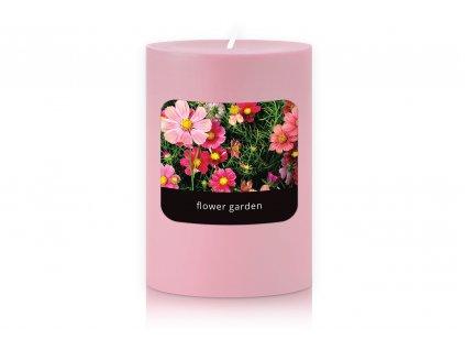 JCandles STOLNI SVICKA 0018 FLOWER GARDEN