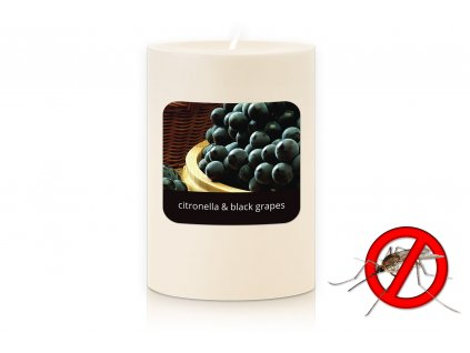 JCandles STOLNI SVICKA 0002 CITRONELLA BLACK GRAPES1