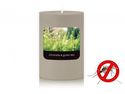 JCandles STOLNI SVICKA 0008 CITRONELLA GREEN TEA