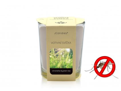 jcandles votive color v krabicce citronella green tea1