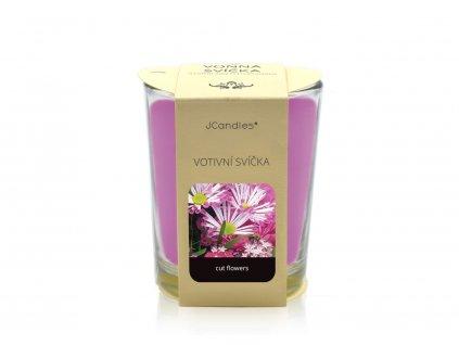 jcandles votive color v krabicce cut flowers1
