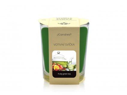 JCandles color intensive votive 0016 fruity green tea