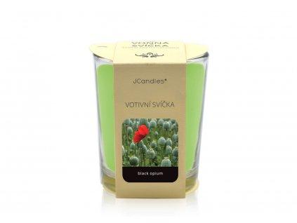 jcandles votive color v krabicce black opium1