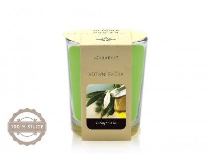 jcandles votive color v krabicce eukalyptus oil1