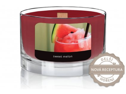 JCandles color intensive wood wick 0022 SWEET MELON1
