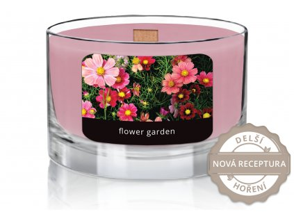 JCandles color intensive wood wick 0008 FLOWER GARDEN1
